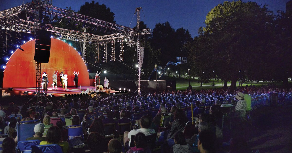 Shakespeare on the Common: Love's Labour's Lost | July 20 - August 7