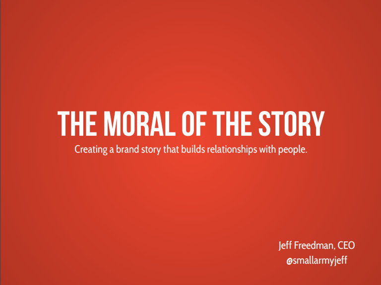 Small Army Moral Workshop PowerPoint - ArtsBoston