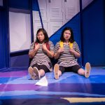 Kim Klasner and Khloe Alice Lin in Company One's production of peerless by Jiehae Park, one of the 10 Asian Pacific American Playwrights you should know.