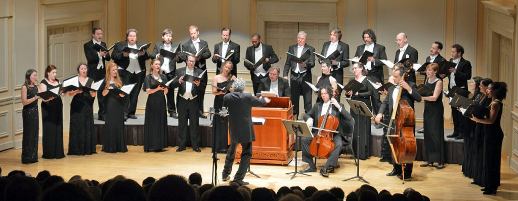 Handel + Haydn Society perform.
