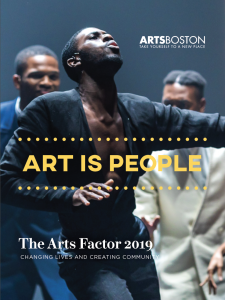 Cover of the Arts Factor 2019 Report