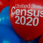 FILE PHOTO: Balloons decorate an event for community activists and local government leaders to mark the one-year-out launch of the 2020 Census efforts in Boston, Massachusetts, U.S., April 1, 2019.   REUTERS/Brian Snyder/File Photo