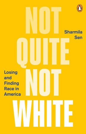 Yellow book cover: Not Quite Not White