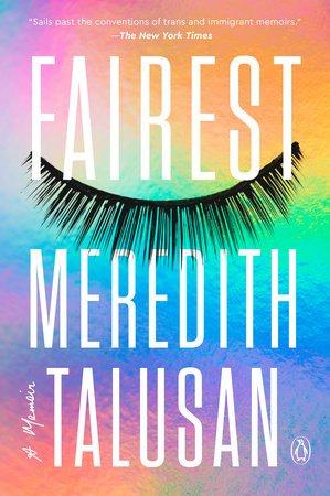 Rainbow pastel book cover: Fairest